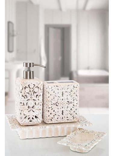 İrya Calısto Krem 4 Prc Banyo Setı Krem